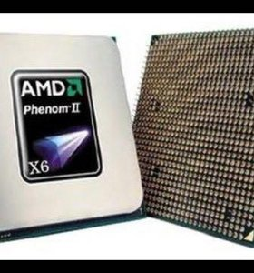 Процессор Amd Phenom II X6 1075 3.5GHz, материнка.