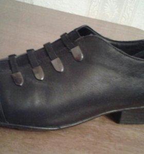 Туфли деми нат кожа р 37-38