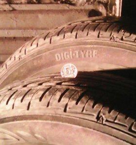 Шины Dunlop 185*65*14 (2 шт)