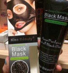 Чёрная маска-пленка