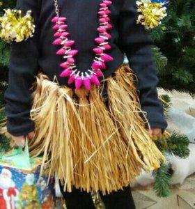 Юбка папуаса на 3-6 лет