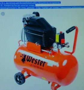 Поршневой компрессор Wester