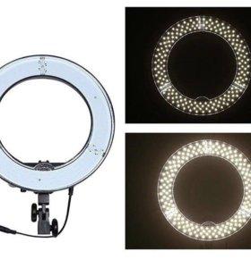 Кольцевая лампа для визажистов