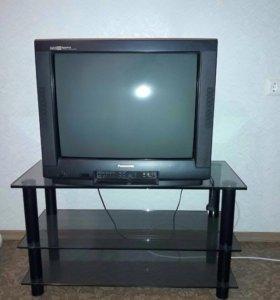 Телевизор Panasonic с тумбой