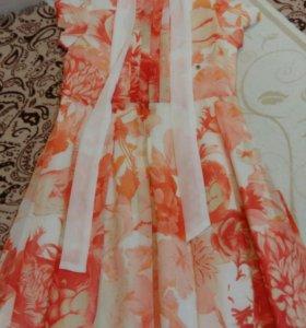 Новое платье на 8-10лет