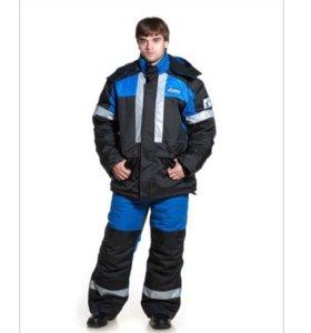 Зимний костюм нефтяника, тройка