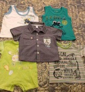 Рубашка, футболка, маечки для детей