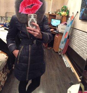 Пальто зимние очень тёплое