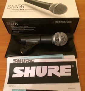 Микрофон Shure 58-LC