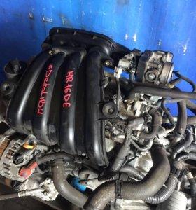 Двигатель 1,6 HR16DE для Nissan
