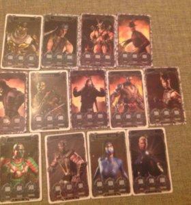 Карточки mortal combat