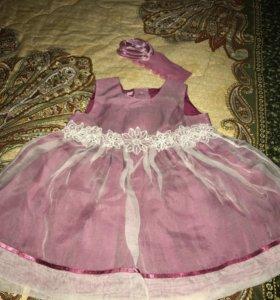 Платье 6 мес
