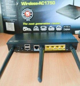 Роутер ASUS RT-AC66U 2.4 + 5.1GHz