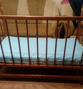 Кровать-маятник