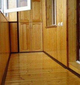 Отделка балконов,бань