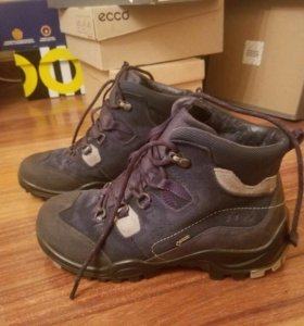 Ecco ботинки зима 38р