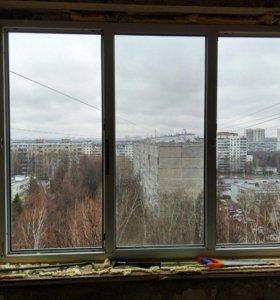 Пластиковые стеклопакеты ( окно )