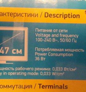 """ЖК-Телевизор 19""""LED BBK 19LEM-1005/T2C"""
