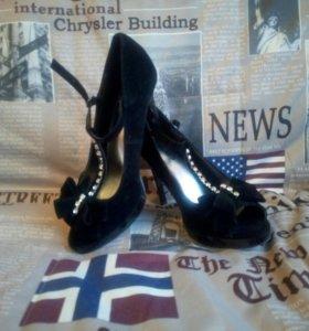 Босоножки-туфли размер 38
