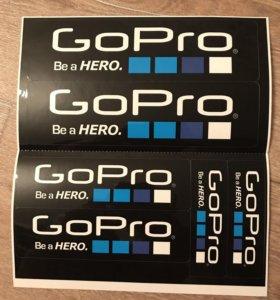 Наклейка Gopro