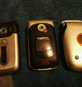 Sony Ericsson раскладушки
