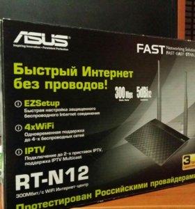 Wi fi роутер/router Asus rt-n12 на гарантии