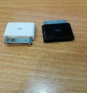 Переходник с microUSB на 30-Pin Apple