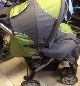 Новая прогулочная коляска Baby Care Sprint Green