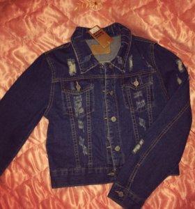 Джинсовка джинсовая куртка новая