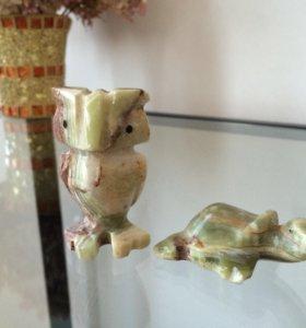 Оникс сова и черепашка