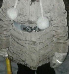 Весенняя тёплая куртка