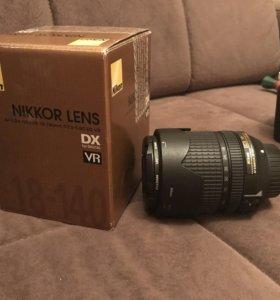 Nikon Nikkor LENS DX 18-140mm