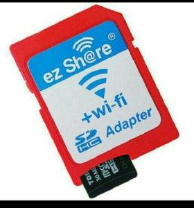 ez Share беспроводной Wi-Fi SD адаптер