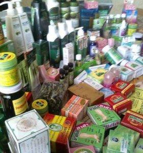 Тайская косметика, зубная паста, мази, и многое др