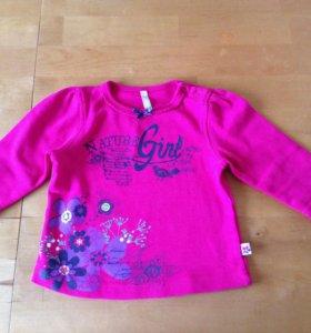 Одежда для девочки 68-74 рост (новая)