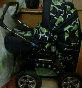 Новая коляска за полцены