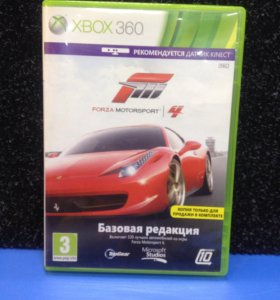 Диск для X-Box 360 Forza Motosport 4.