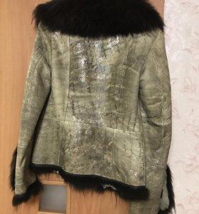 Дублёнка куртка 42-44