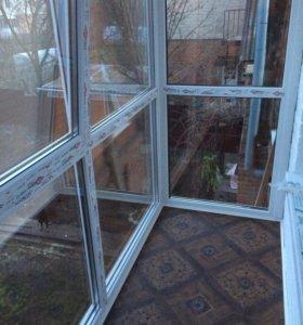 Балконы под ключ,окна