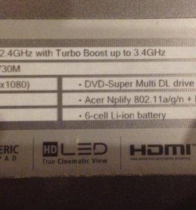 Ноутбук Acer Aspire V3-771G