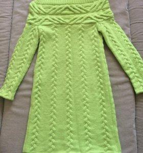 Вязаное платье (новое)