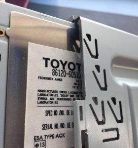 Штатная магнитола Toyota Land Cruiser Prado 120