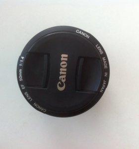 Объектив canon EF 50mm f/1.4, срочная продажа,торг