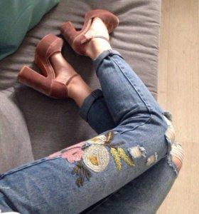 🔥Новые джинсы бойфренды🔥