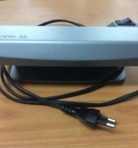 Ультрафиолетовый детектор для бумажных банкнот