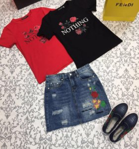 Юбки и футболки