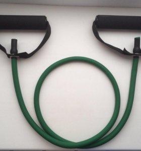 Эспандер трубчатый резиновый для фитнеса
