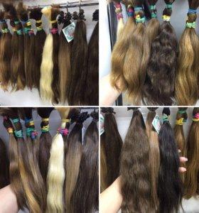 Волосы детские в срезах и на капсуле