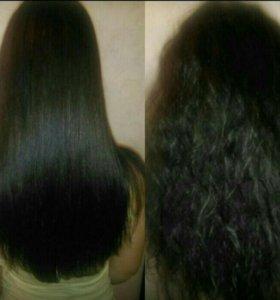 Кератиновое выпрелне и ботакс для волос