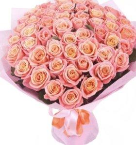 Срезанные Розы Миссис напрямую из теплиц цветы